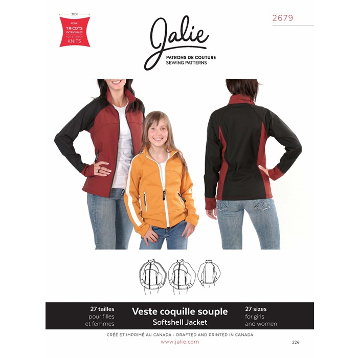 J2679 SOFTSHELL JACKET