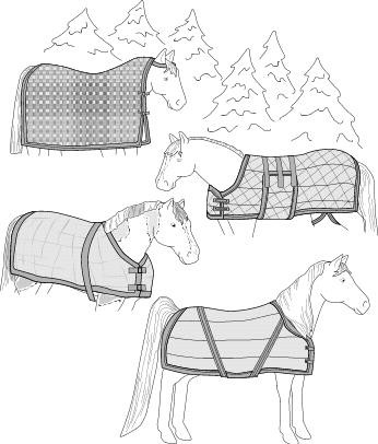 S7900 HORSE BLANKET, SHEET & COOLER PATTERN
