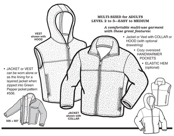 GP507 PLUSH POLAR JACKET & VEST