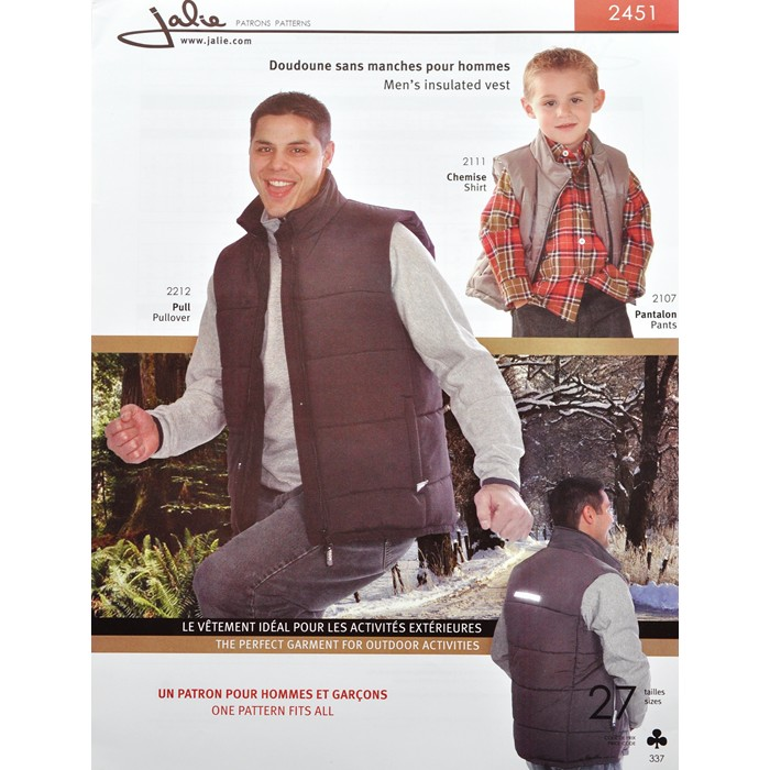 J2451 MEN'S INSULATED VEST