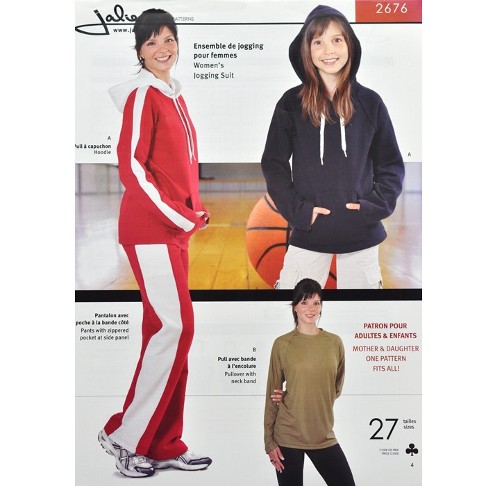 J2676 WOMEN'S JOGGING SUIT