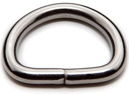 Stainless Steel Welded D-Rings