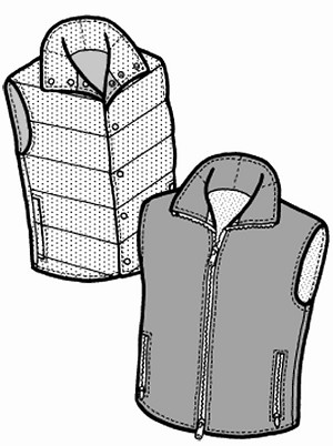 GP101 WOMEN'S SANTIAM VEST