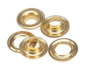 Gross - Plain Washer Grommets Brass