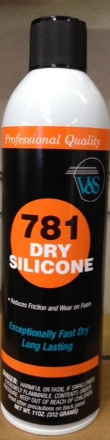 V&S 781 Dry Silicone Spray