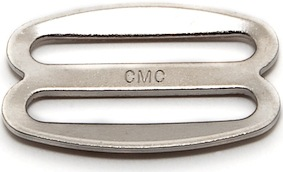 Curved Single Bar Slide in Nickel Plated Steel