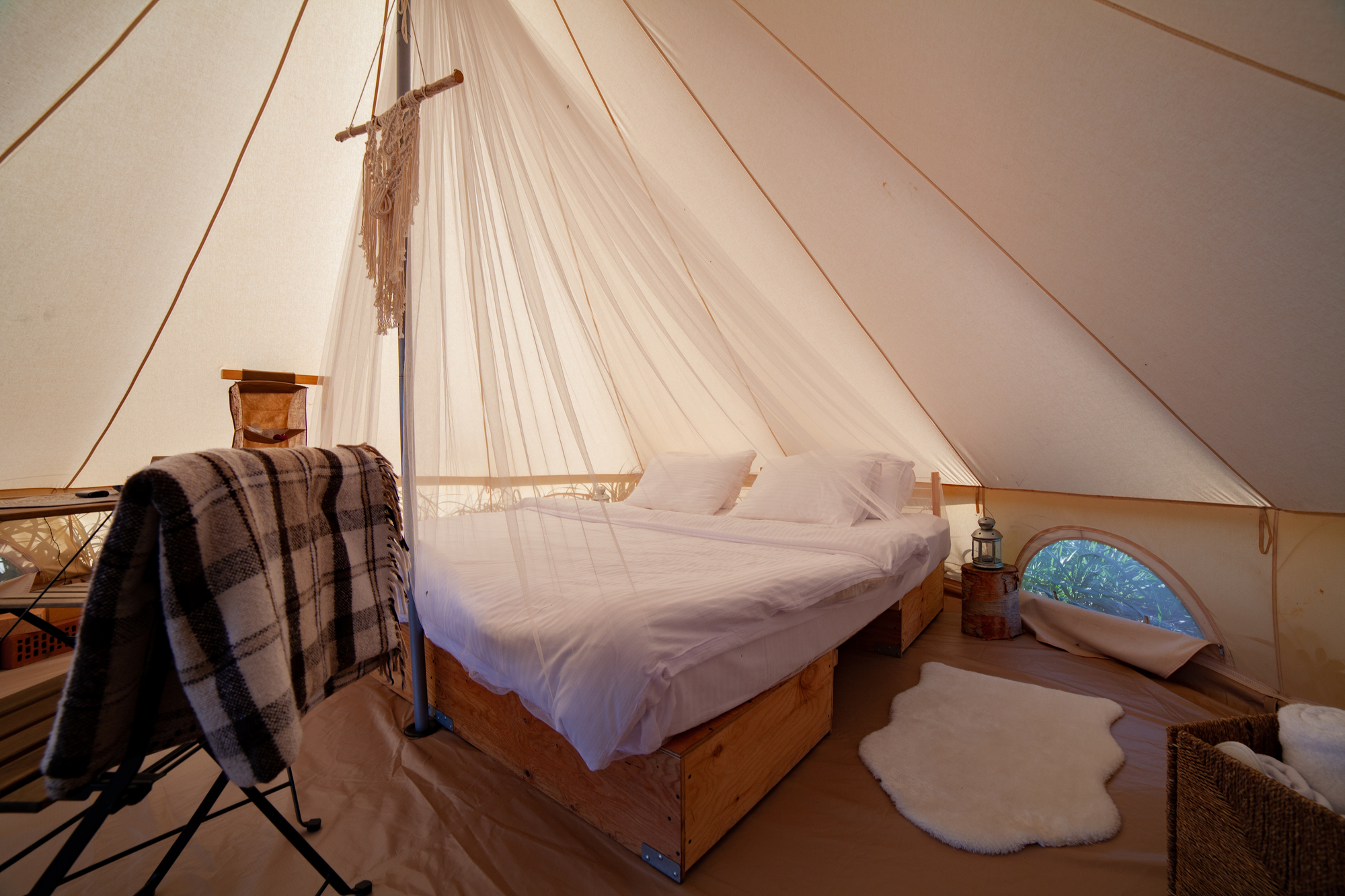 Glamping: Not Just for the Bourgeoisie