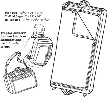 GP220 GARMENT BAG PATTERN
