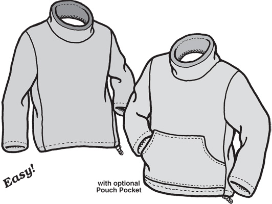 GP520 ADULT POLAR SWEATER PATTERN