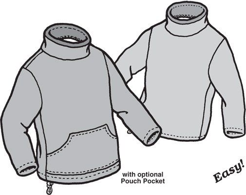 GP521 CHILDREN'S POLAR SWEATER PATTERN