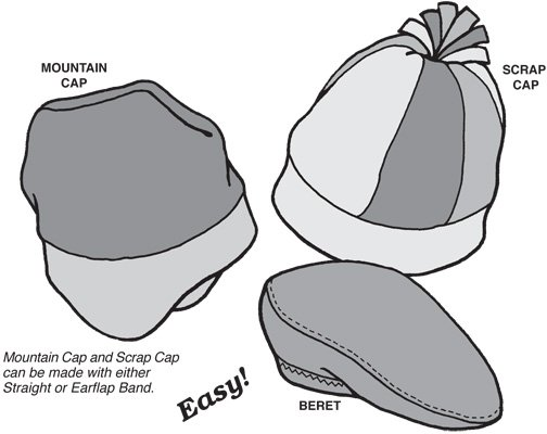 GP522 SNOW CAP PATTERN