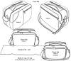 RS100 FLIGHT BAG/DIAPER BAG PATTERN