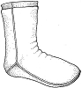 RS220 FLEECE SOCKS PATTERN