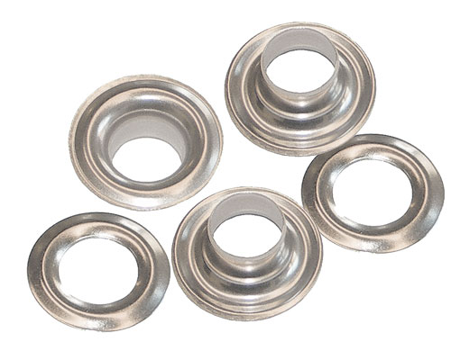 Gross - Plain Washer Grommets Nickel