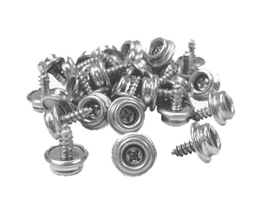 Stainless Steel Screw Stud Snap