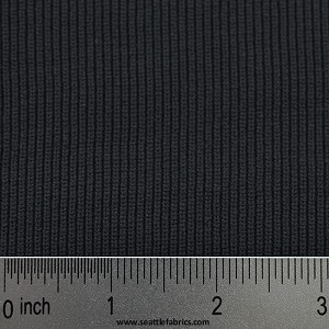 "30"" 1 x 1 Nylon Rib-knit @ $.95/ linear inch"
