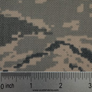 "60"" 1000 D. Cordura Nylon @ $13.50 to $15.00/ linear yard Camouflage Selection"