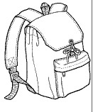 GP203 DRAWSTRING DAYPACK PATTERN
