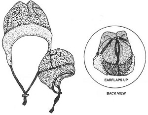 RS240 CONVERTIBLE BOMBER HAT PATTERN