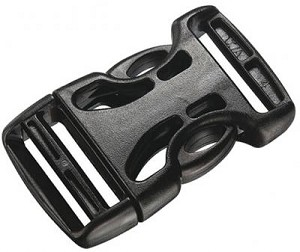 Airloc Double Side Release Buckle Buckle For Webbing Strap