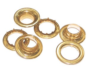 brass washers grommets spur grommets seattle fabrics