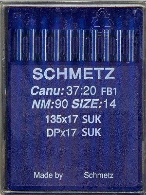 Schmetz Industrial Sewing Machine Needles