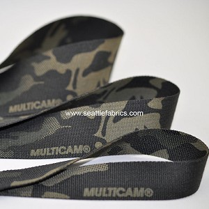 "1"", 1-1/2"" and 2"" Nylon Black Multicam Webbing @ $3.50 to $5.50/ yard"