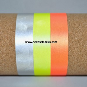 "1"" Sew On 3M Scotchlite Reflective Tape @ $3.00/ yard"
