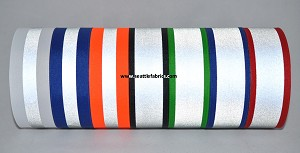 "1-1/2"" Reflective Ribbon @ $2.50/ yard"