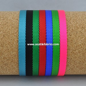 "3/8"" 0755 Heavy Nylon Webbing @ 75¢/ yard"